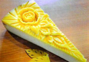 Sculpture sur fromage - Fromager en Isère