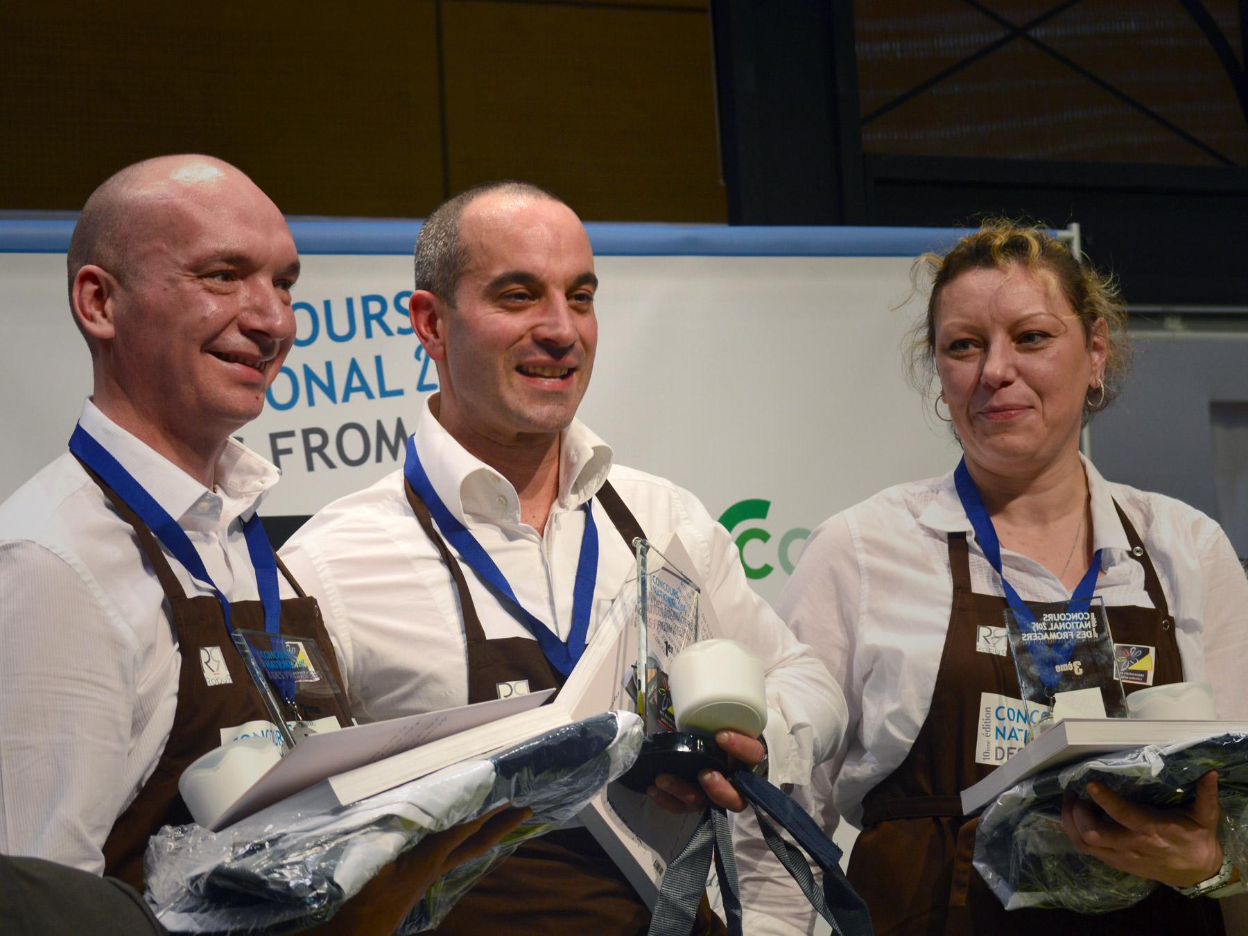 Vainqueur du Concours National des Fromagers 2015