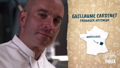 Portrait de Guillaume Cardinet, fromager affineur
