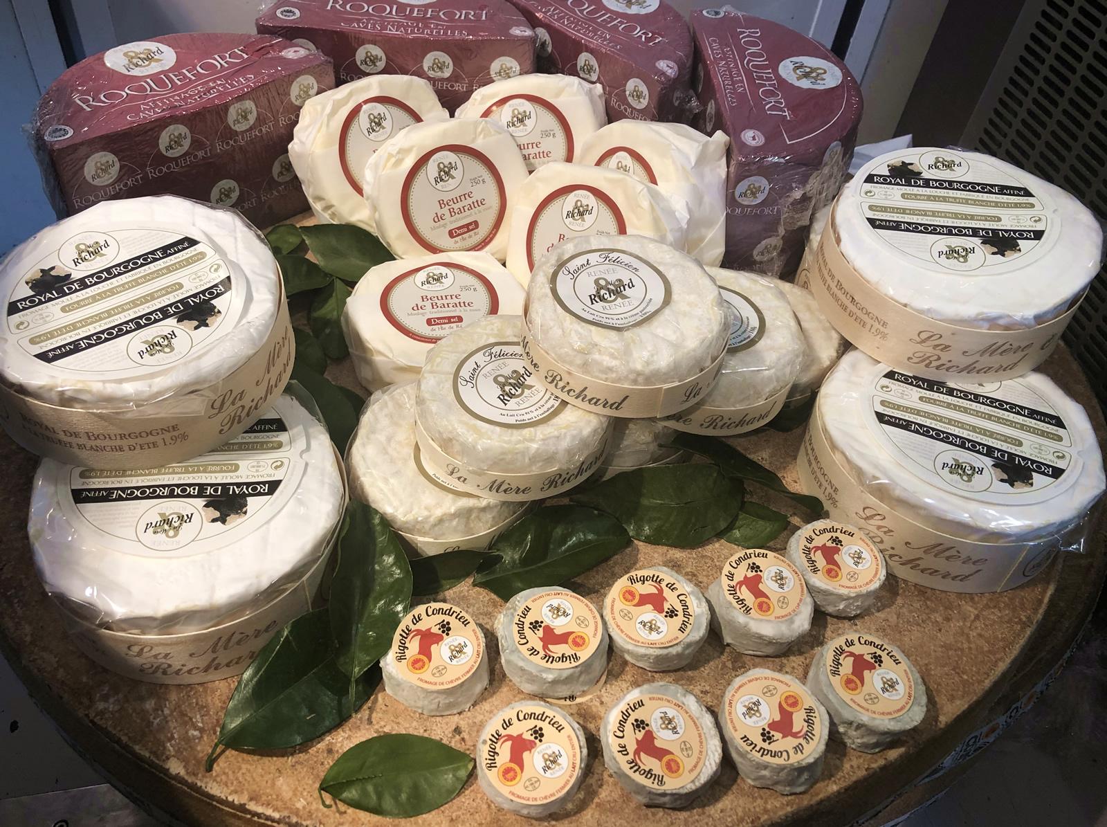 Avis aux connaisseurs et aux amateurs des produits de la Mère Richard, la Maison Cardinet propose ses fromages d'exception !
